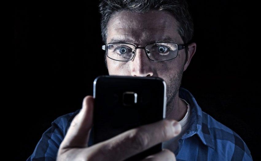 Mobiele telefoon Porn