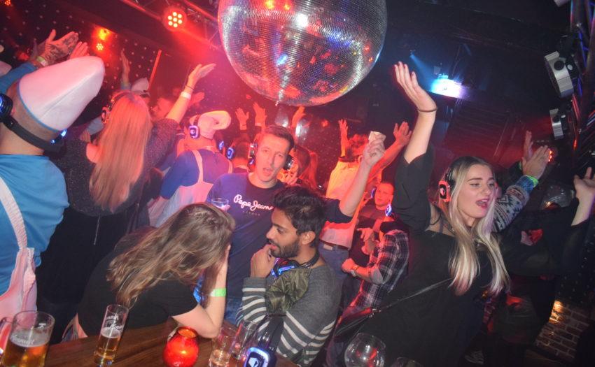 Silent disco club