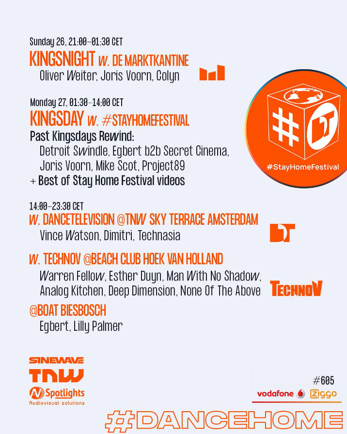 Kingsnight en Kingsday Marathon 2020