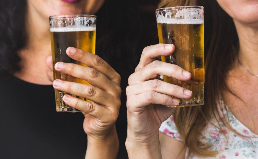 Bier na wijn