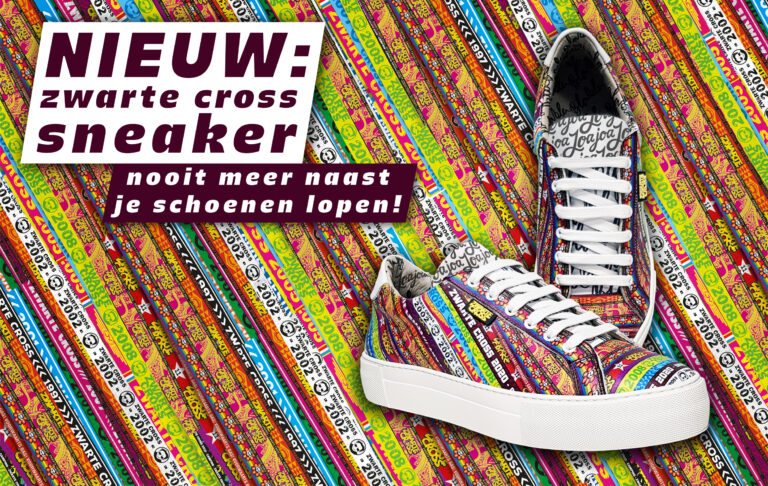 Zwarte Cross Sneakers-3